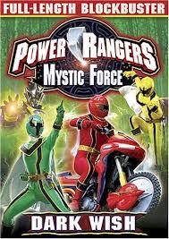 power rangers mystic force dark wish