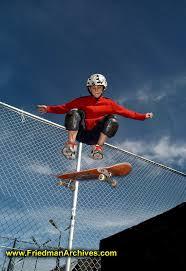 skate board kid