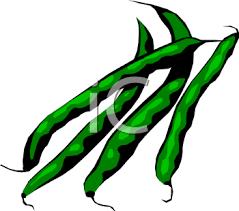green bean clipart