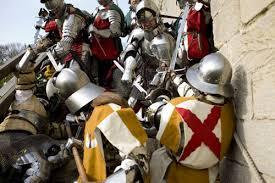medieval battle reenactments