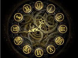 mechanical clock screensaver
