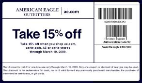 american eagle coupons 2009