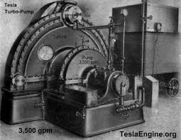 tesla water pump