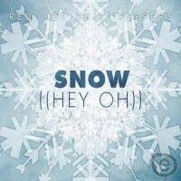 red hot chili peppers snow
