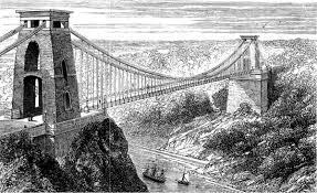 suspension bridge building