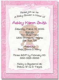 girl baby shower invites