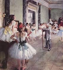 edgar degas ballet paintings