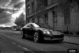 bentley gt black