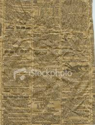 picture of old newspaper