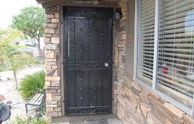 iron security door