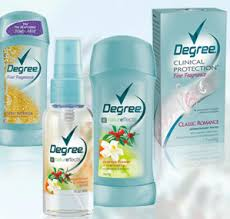 degree body spray