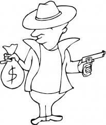 coloring page money