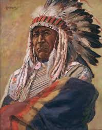 paintings of indians