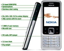 mobile phone nokia 6300
