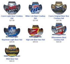 beer box hats