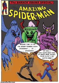 barack obama spiderman