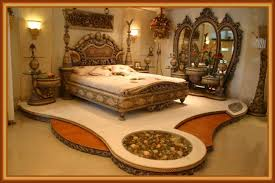 bed room setting