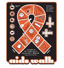 from Calgary AIDS Walk.