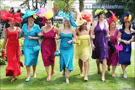 horse racing dress