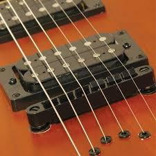 fixed bridge guitar