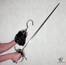 captain hook sword