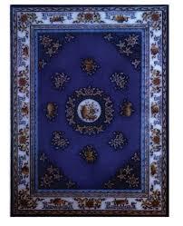 blue throw rugs