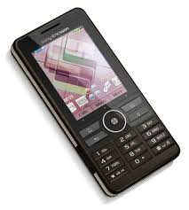 sony ericsson touchscreen