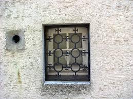 iron grilles