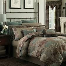 brown bed comforters