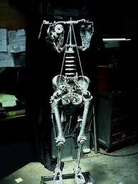 mechanical skeleton