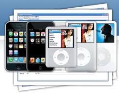 all types of ipod