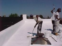White Roof in process ...