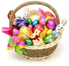 pictures of easter baskets