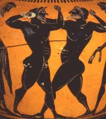 ancient olympic games pictures