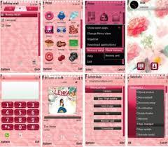 pink nokia 5800