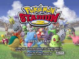 pokemon stadium game