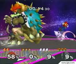 super smash bros melee giga bowser