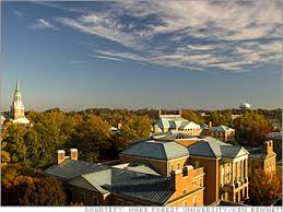 be held at Wake Forest,