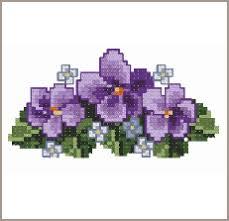 cross stitch flowers patterns
