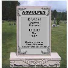 gravestone saying