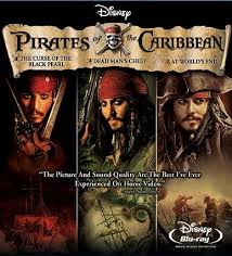 pirates of the caribbean boxed set