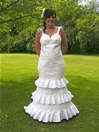 paper wedding dresses