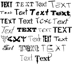 fonts and styles