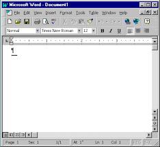 computer microsoft word