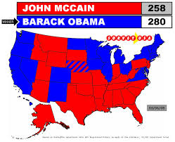 obama and mccain votes