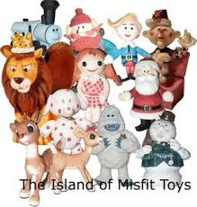 rudolph and the misfit toys