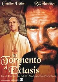 Cartel de la película , El tormento y el éxtasis, 1965