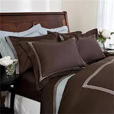chocolate brown duvet