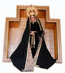 our lady of sorrows statue