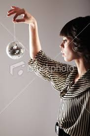 small disco ball
